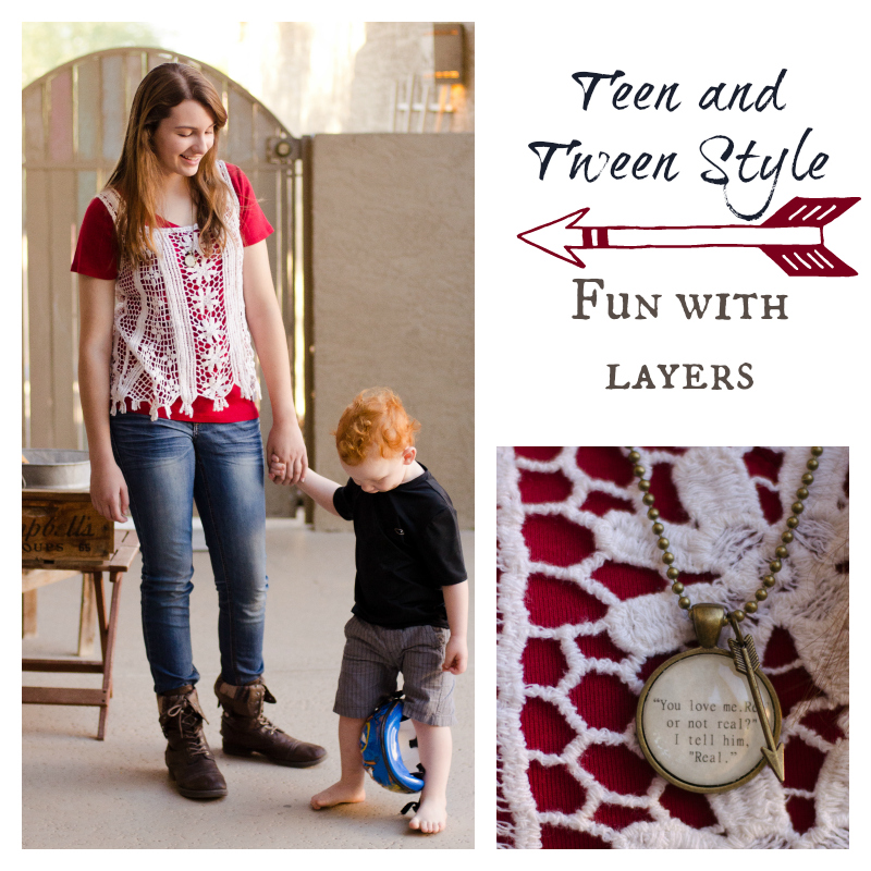 Teen and Tween Style - Fun with Layers - Kate Eschbach Photography