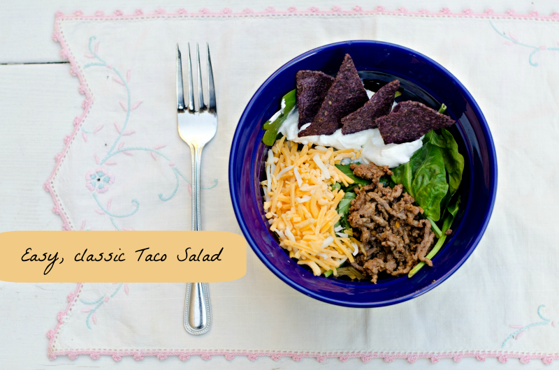 Taco Salad #15MinuteSuppers