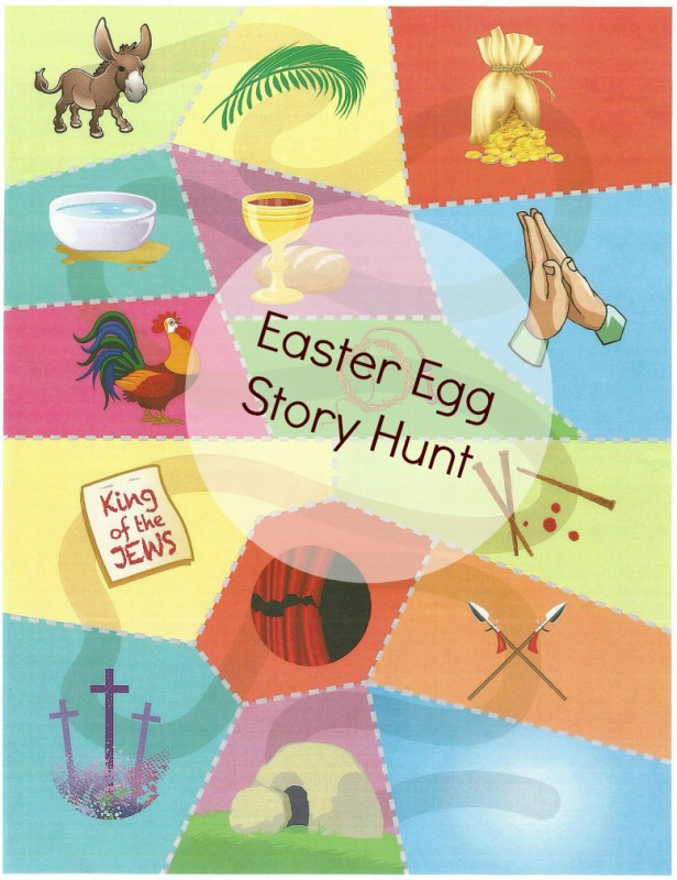 Easter Egg Story Hunt