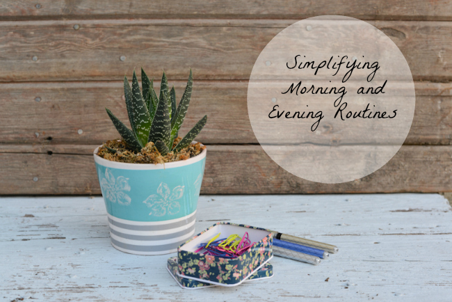 Simplifying Morning and Evening Routines-2b