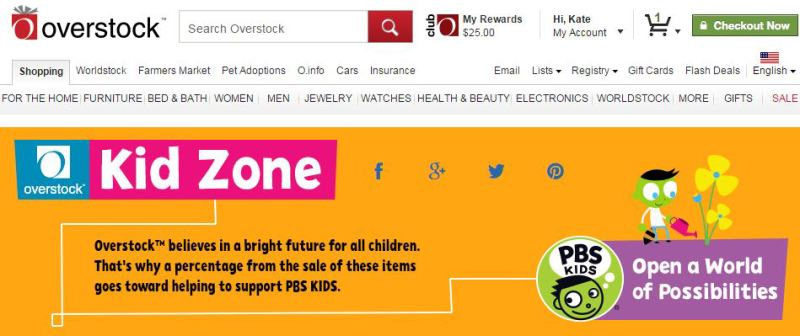 Overstock and PBS Partnership 1