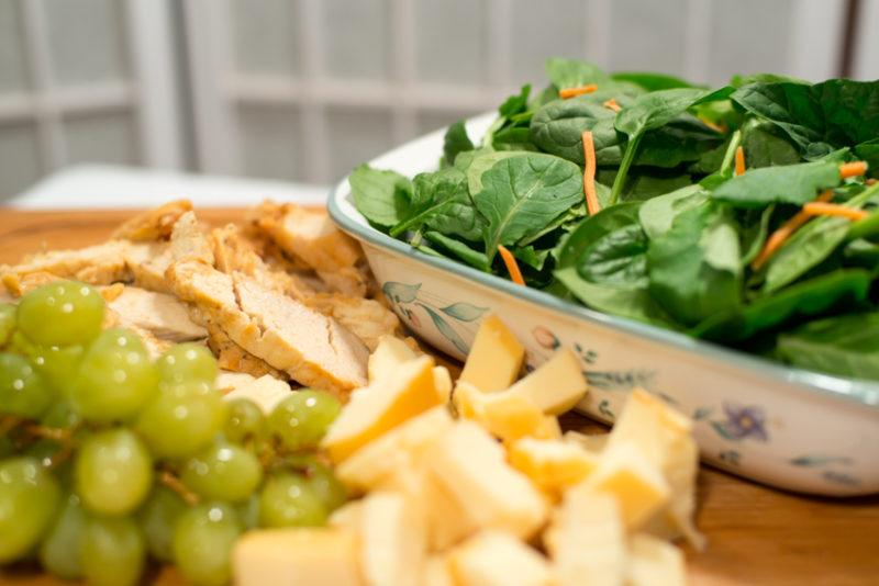 Aged Cheddar Grilled Chicken Salad Kate Eschbach